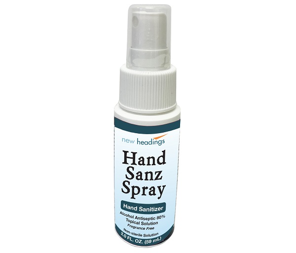 80% Ethyl Alcohol Hand Sanitizer Spray