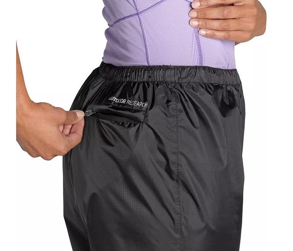 Zip Back Stuff Pocket