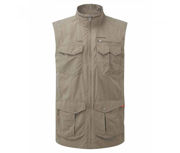 M's Insect Shield Adventure Gilet by Craghoppers