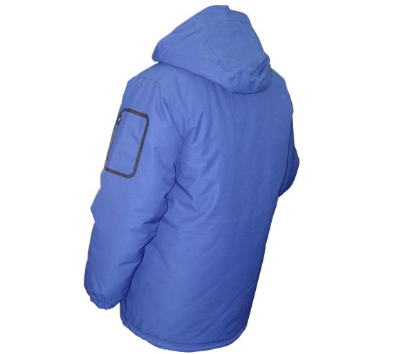 Snap-off adjustable hood