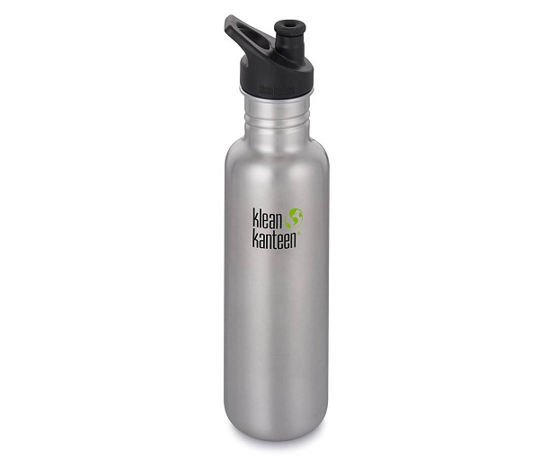 Klean Kanteen® 27 Widemouth Stainless with Mini Carabiner