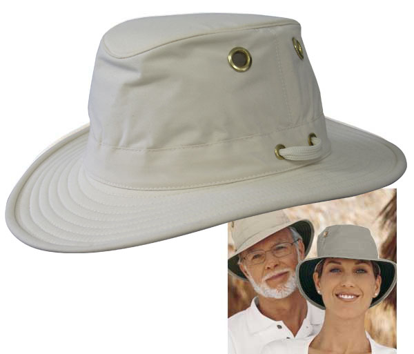<i>Hats</i> - Breathable Tilley - It Floats!