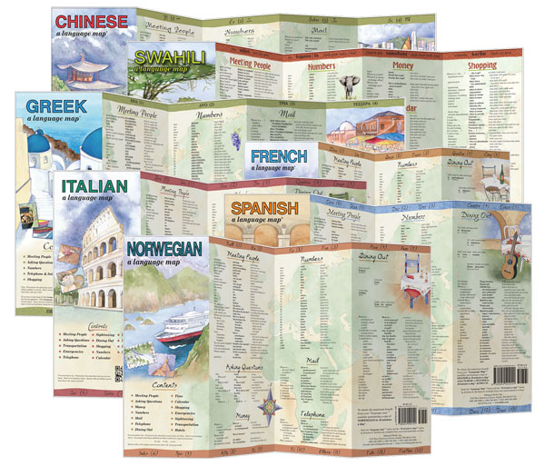 Language Map Series by Bilingual Books