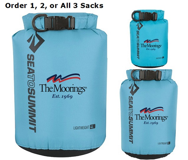 Moorings Lightweight Boating Dry Sacks