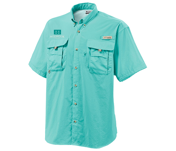 Holbrook Travel Men's S/S Bahama Sun Shirt by Columbia