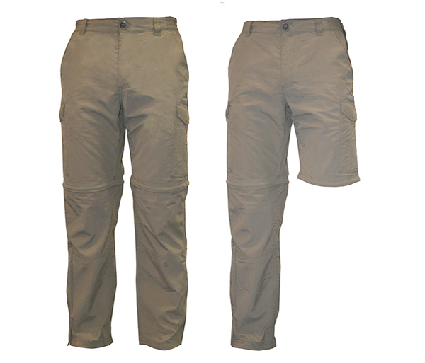 M's Convertible Pants with Insect Shield