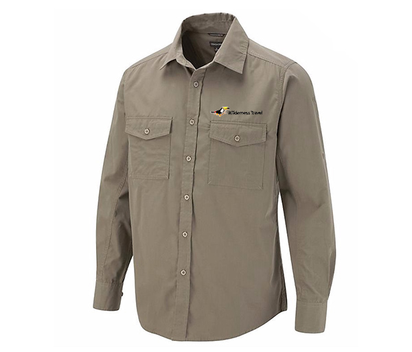 "Wilderness Travel's M's L/S ""Biteproof"" Shirt by Craghoppers"