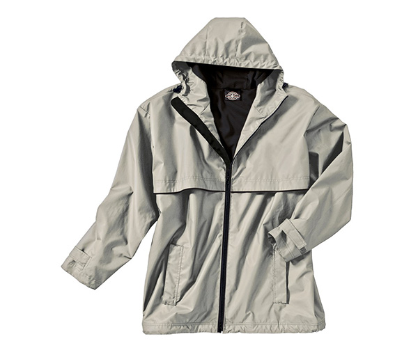 M's New Englander Rain Jacket by Charles River