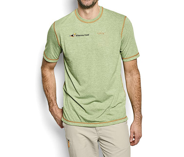 Wilderness Travel's M's DriRelease S/S T-Shirt by Orvis