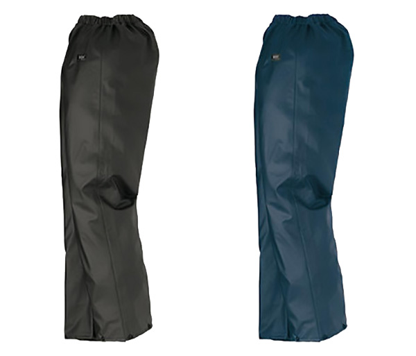 Black & Navy Rain Pants
