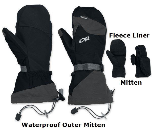 Rental - Waterproof Mitten Set