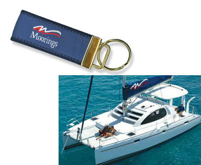 Moorings Key Chain