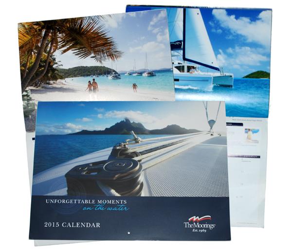 Moorings 2016 Calendar