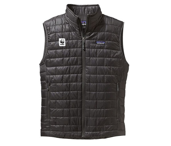 WWF M's NanoPuff Vest by Patagonia