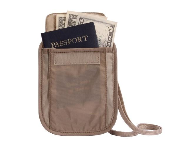 Undercover Neck Wallet