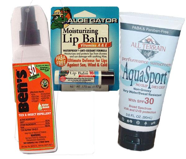 Bug, Sun, & Lip Kit by Ben's & All Terrain