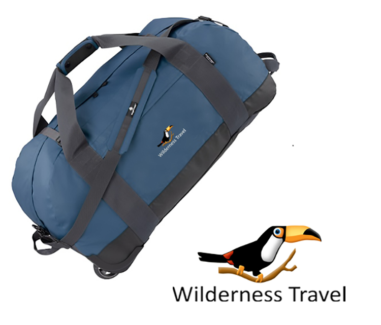 Wilderness Travel Large Rolling Soft-sided Duffel