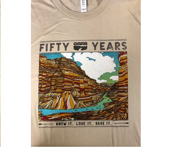 OARS 50th Anniversary T