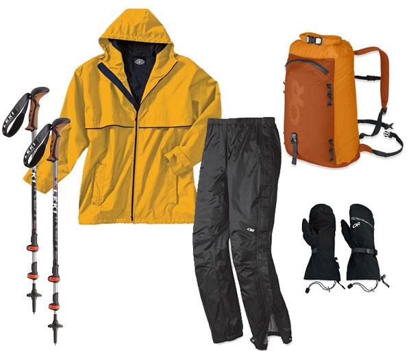 USH Rental Set - Jacket, Staff, Pants, Pack & Mitts
