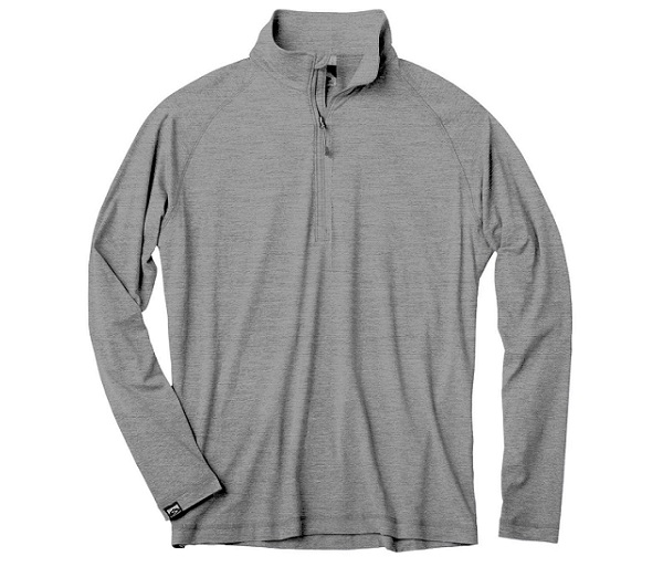 M's Sueded Comfort Quarter Zip