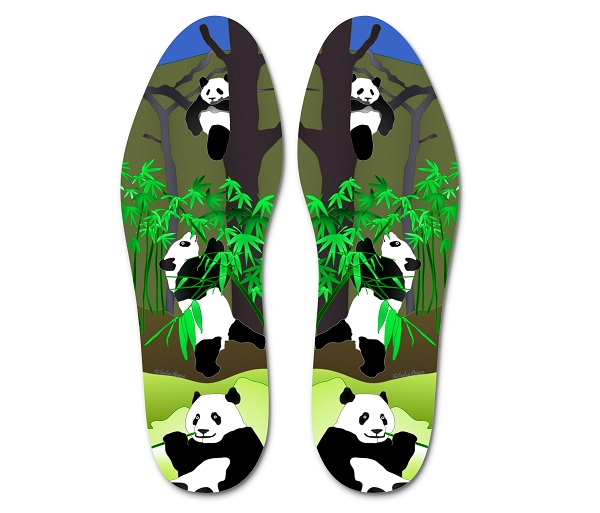 "Panda ""I Walk in Their Shoes"" Insoles"