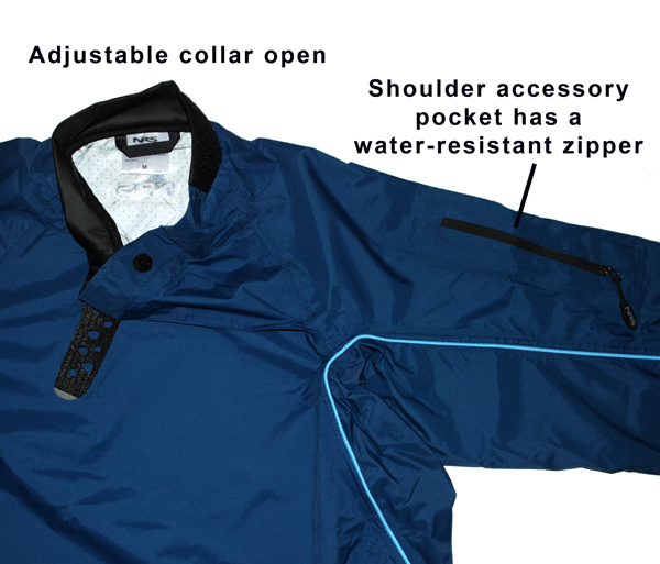 Collar and Pocket Details