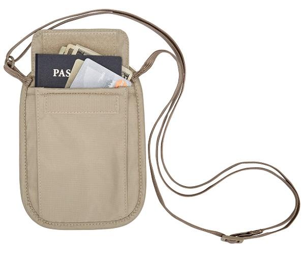 RFID Blocker Neck Wallet by Eagle Creek