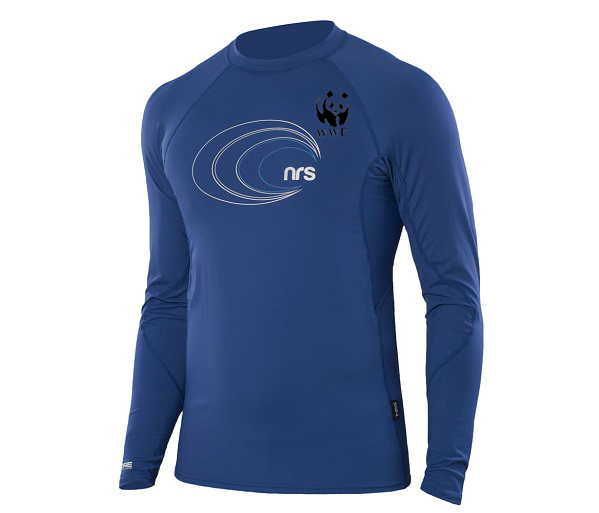 WWF M's UPF Rash Guard & Snorkel Top