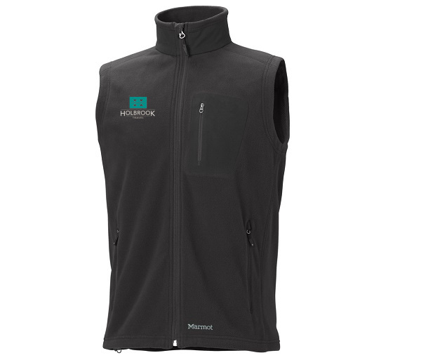 Holbrook Travel Men's Reactor Polartec 100 Vest by Marmot