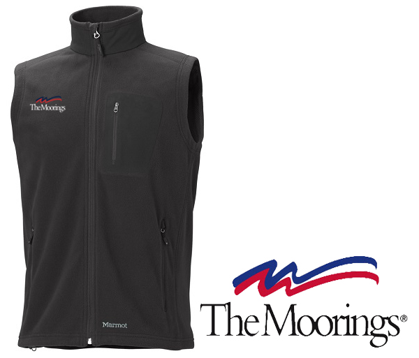 Moorings M's Reactor Polartec 100 Vest by Marmot