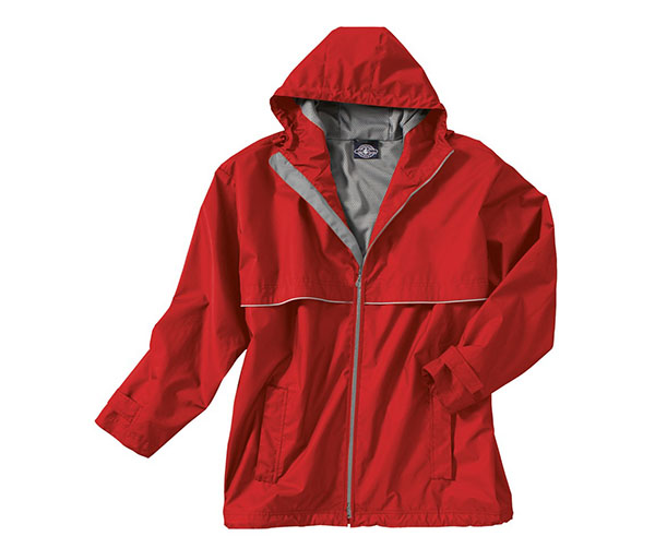 Men's New Englander Rain Jacket by Charles River