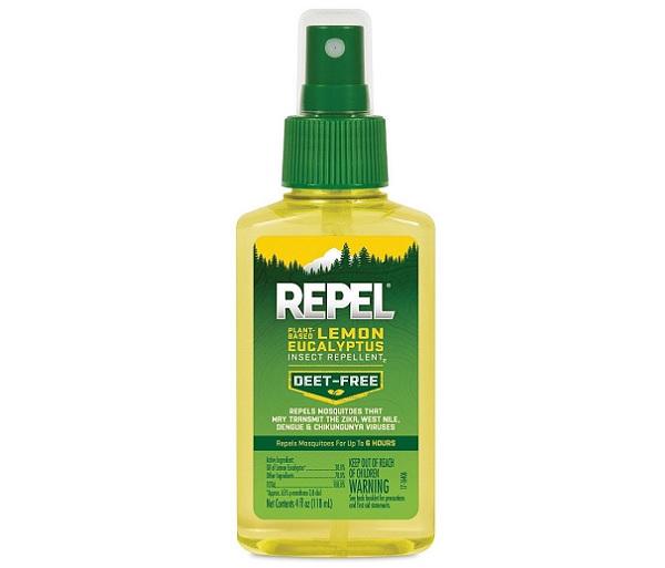 Natural Lemon Eucalyptus Mosquito Repellent