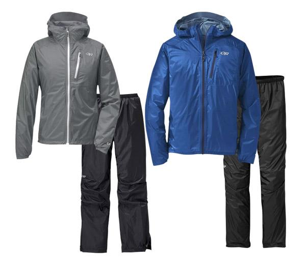 Featherweight River Rain Jacket & Pants Set