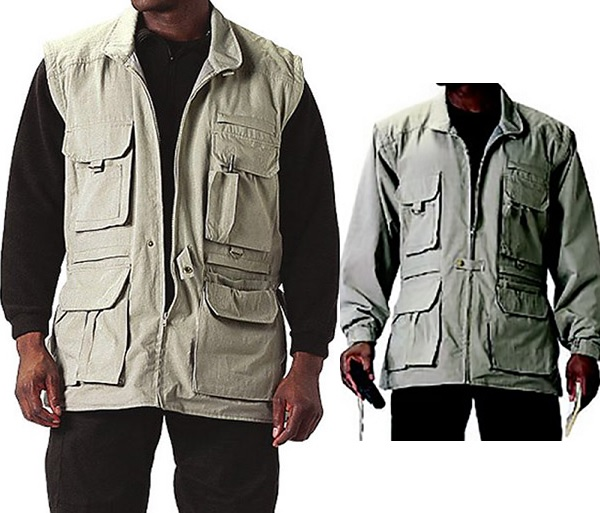 M's Convertible Safari Jacket by Rothco