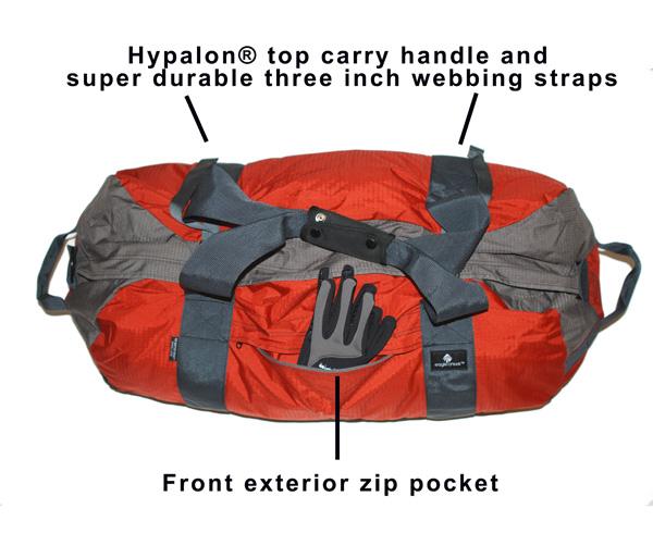 Great Handle, Straps, Side Pocket