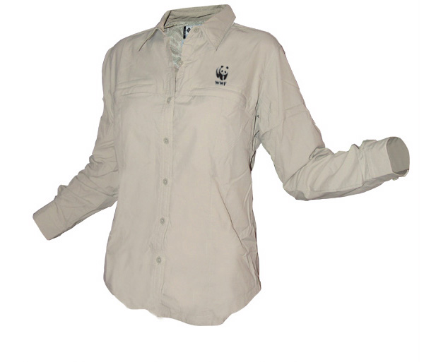 WWF Adventurer Sun Shirt - Ladies