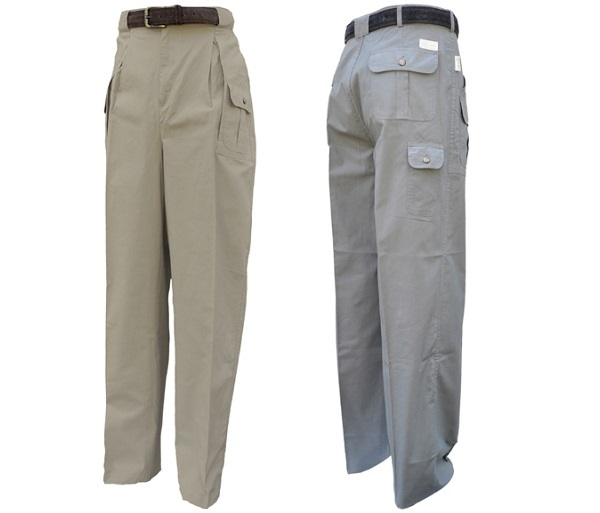 Men's 6 Pocket Cargo Pants by Tag Safari
