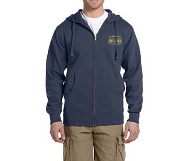 Hetch Hetchy Unisex Organic / Recycled Full Zip Hoodie