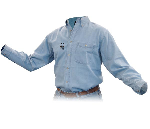 WWF Discovery Denim Shirt - Men & Ladies
