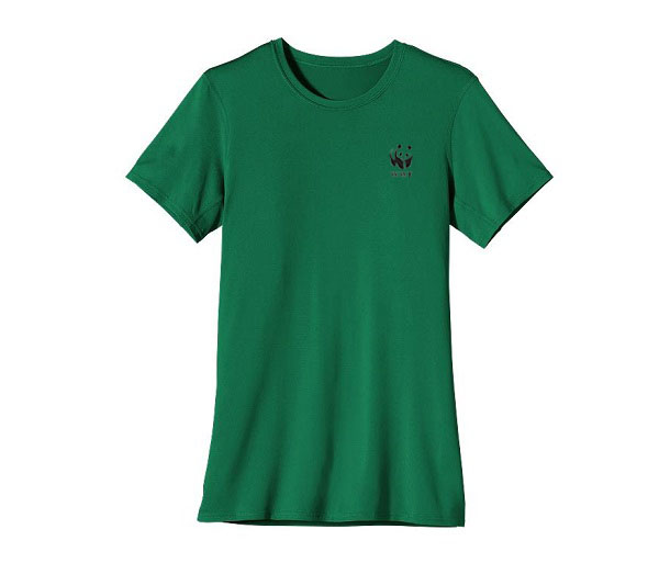WWF W's UPF Capilene S/S Performance T by Patagonia