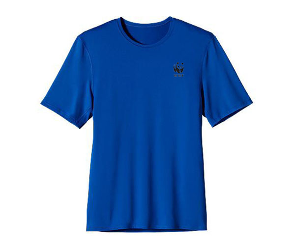 WWF M's UPF Capilene S/S Performance T by Patagonia