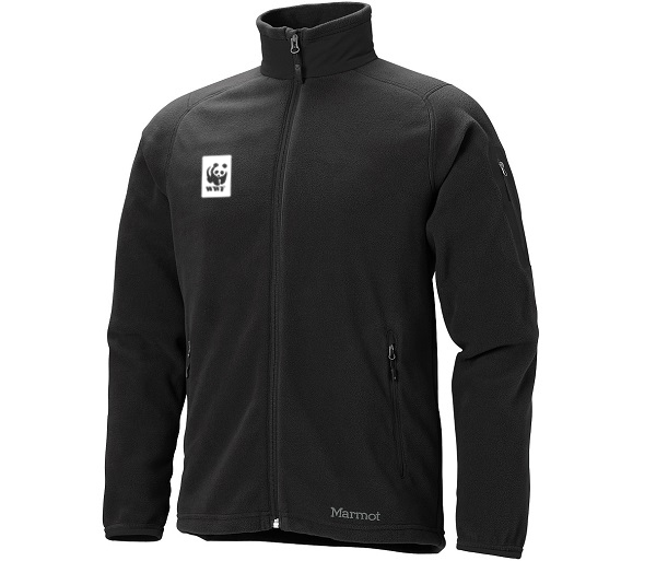 WWF M's Microfleece Jacket by Marmot