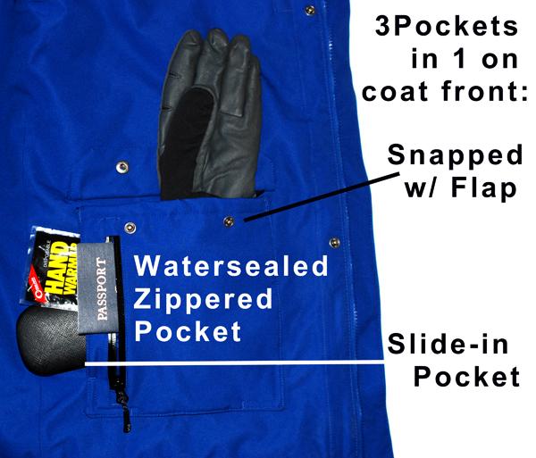 Exterior Pocket Detail