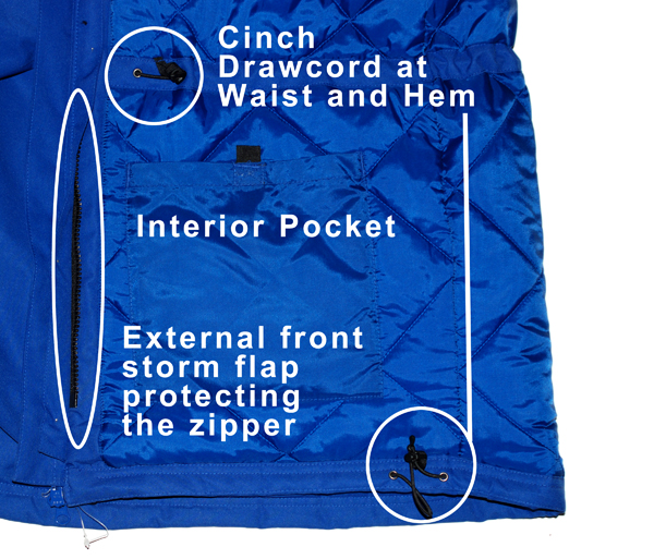 Interior Pocket Detail