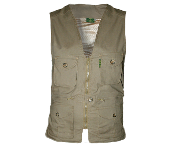 Women's Livingstone Safari Vest by Tag Safari