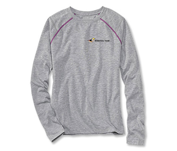Wilderness Travel's W's DriRelease L/S Tee by Orvis