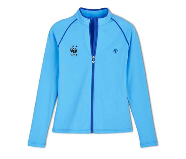 WWF W's L/S Water Jacket UPF 50+ by Coolibar