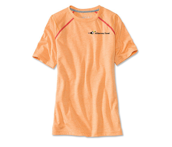 Wilderness Travel's W's DriRelease S/S Tee by Orvis