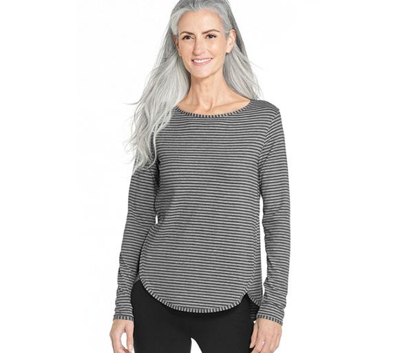 Grey/Heather Stripe