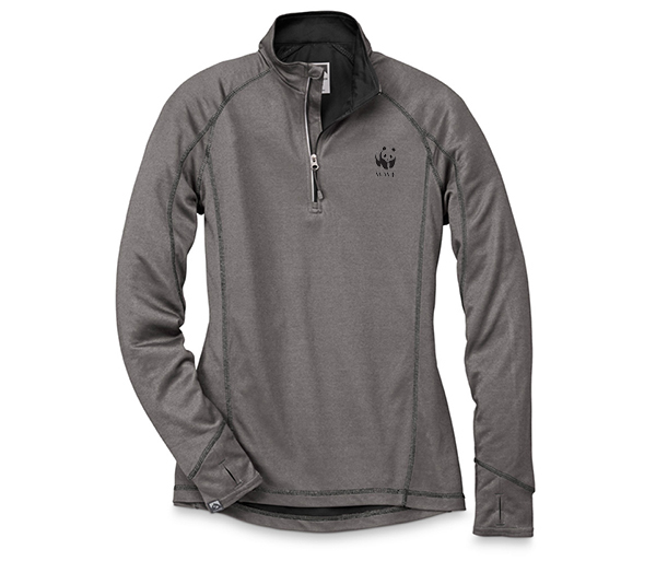 WWF W's Sueded Comfort Quarter Zip